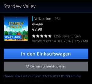 Stardew Valley für PlayStation 4 (PS4)