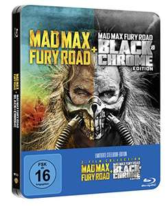Mad Max Fury Road: Black & Chrome Edition im Steelbook (Amazon exklusiv) Blu-ray @amazon.de [Prime]