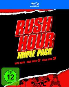 Rush Hour - Trilogy (Blu-ray) für 9,97€ (Amazon Prime)