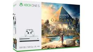 Xbox One S 500GB Konsole – Assassins Creed-Bundle inkl Shoop ca 142€