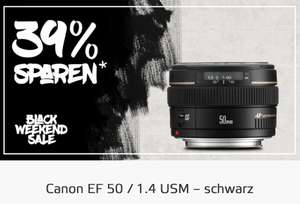 Caanon EF 50/1,4 - Black Weekend Deal