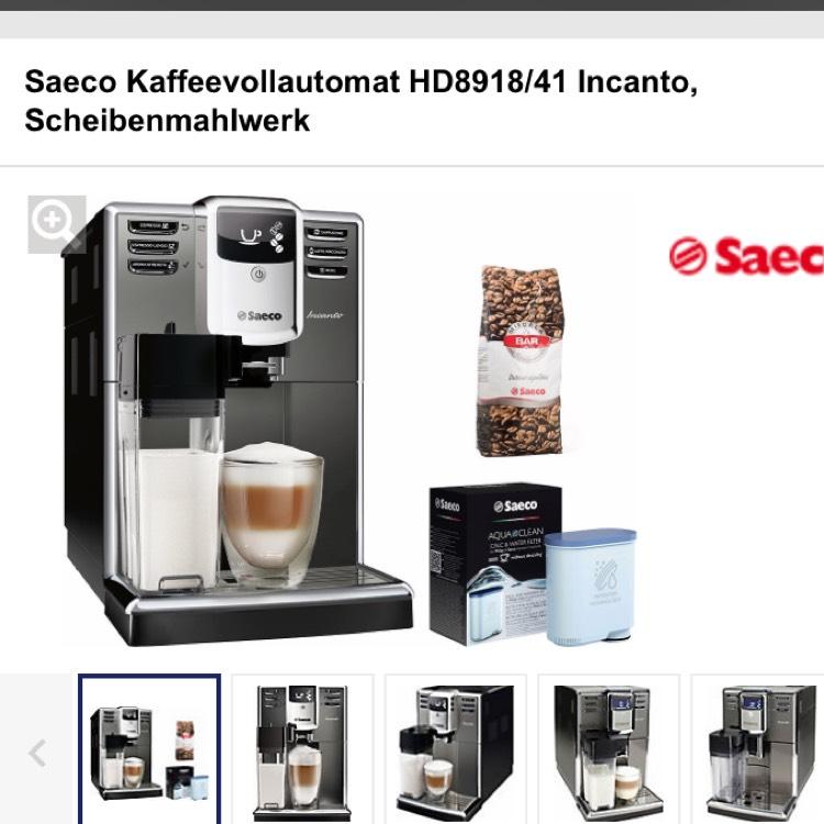 Saeco Incanto HD8918 Kaffeevollautomat mit Gutschein Code