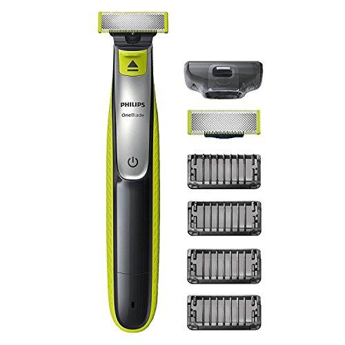 Philips OneBlade, Trimmen, Stylen, Rasieren / 4 Trimmeraufsätze, 1 Ersatzklinge QP2530/30