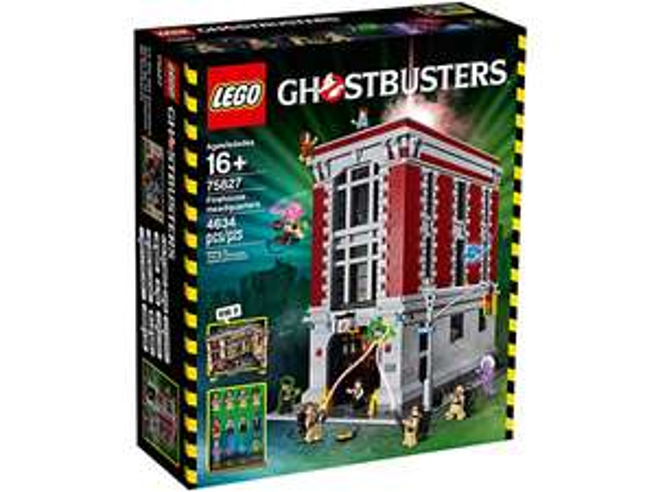 Lego Ghostbusters Feuerwehr-Hauptquartier 75827 + Nussknacker (Cyber Monday)