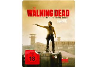 [Saturn-Cyber Nightt Angebot] The Walking Dead - Staffel 3 (Limited Steelbook Uncut Edition) - (Blu-ray) für 9,99€ Versandkostenfrei bei Zahlung über Paydirekt
