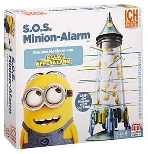 Mattel Spiele FFC11 - S.O.S. Minion-Alarm, S.O.S. Affenalarm Sonderedition