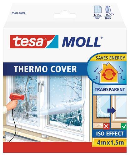 [Amazon] tesamoll Fensterisolierfolie THERMO COVER 4x1,5m für 10,62€ (zzgl. Versand)