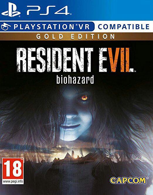 Resident Evil 7 Gold Editon PS4 oder Xbox One für 37,89€ amazon.fr