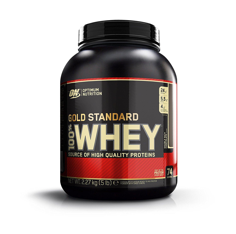 Optimum Nutrition Whey (2,27kg) für 34,93€ (26,19€ mit 20% Spar-Abo Vorteil)