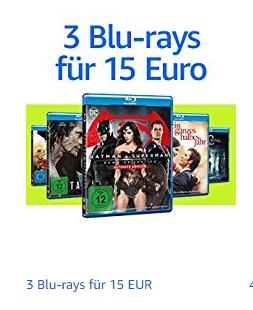 [amazon] Blu-Ray Multi-Buy: 3 für 15€. Auswahl aus 483 Warner Titeln.