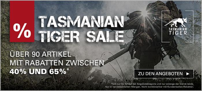Tasmanian Tiger TT Sale mit bis zu 65% bei ASMC