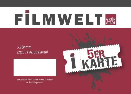 Vorankündigung Nikolaus-Aktion Filmwelt Grünstadt