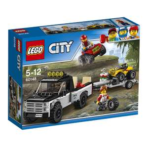 @amazon blitzangebot Lego 60148 City Quad-Rennteam 12,99 Eur