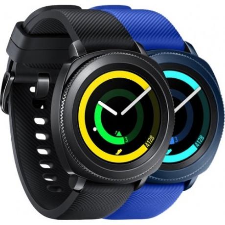 Samsung Gear Sport für 296,91€ @ Rakuten - Smartwatch mit Spotify offline Playlisten, GPS, 5 ATM wasserdicht
