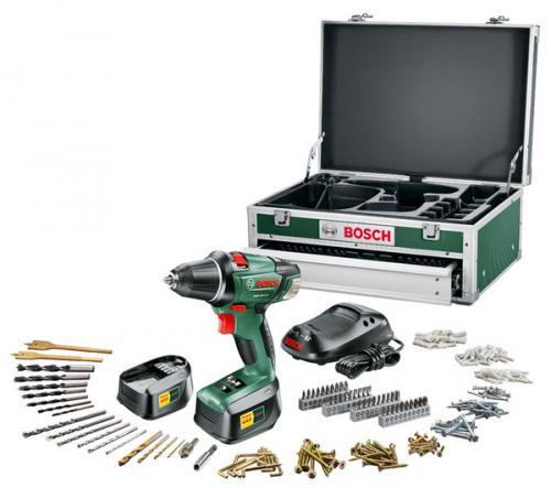 {LOKAL - WITTEN} Bosch PSR 18 LI-2 mit 2+1 = 3 Akkus + Toolbox 241-tlg. (0 603 956 S0G)