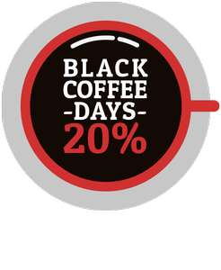 20% Black Coffee Days bei Henry's