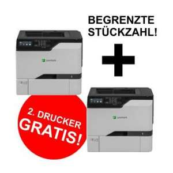 2 Farblaser im Bundle und günstig - Lexmark CS727DE