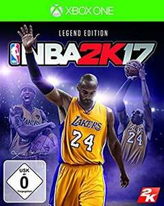 NBA 2k17 Legend Edition Xbox One (Amazon)