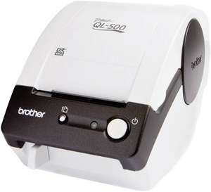 Brother QL-500BW Etiketten-Drucker Thermodirekt 300 x 300 dpi