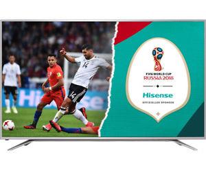 Hisense H65MEC5550 TV (65'' UHD Edge-lit HDR, 800Hz [interpol.], Triple Dual Tuner, 2x HDMI 2.0 + 2x HDMI 1.4, 3x USB, LAN + WLAN mit Smart TV, CI+, USB-Recording, VESA, EEK A+) [ebayWOW]