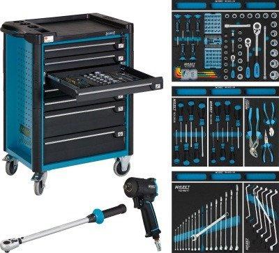HAZET Werkstattwagen Assistent 179-7/145 mit 145 Werkzeugen