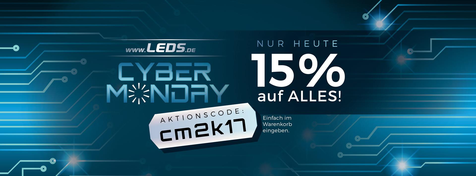 15% Rabatt auf alle Produkte von leds.de