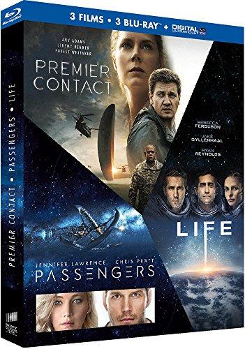 Arrival + Passengers + Life (Blu-ray + Digitale Kopie) für 15,83€(Amazon.fr)