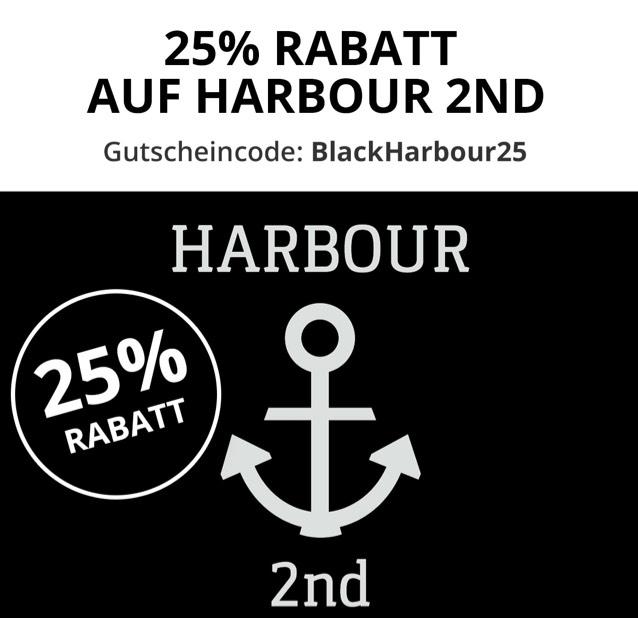 25% Rabatt auf Harbour 2nd bis heute 24:00 verlängert!