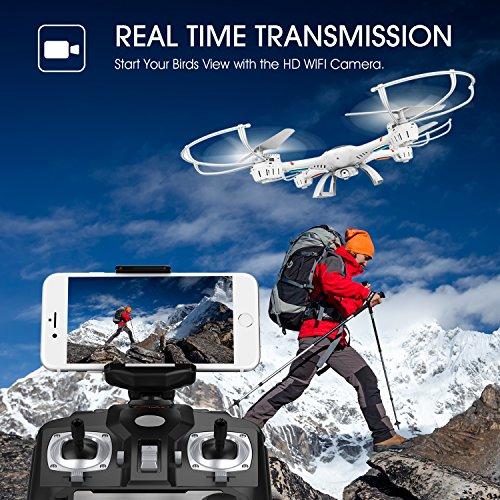 DBPOWER MJX X400W FPV Drohne mit Wifi Kamera $69.90