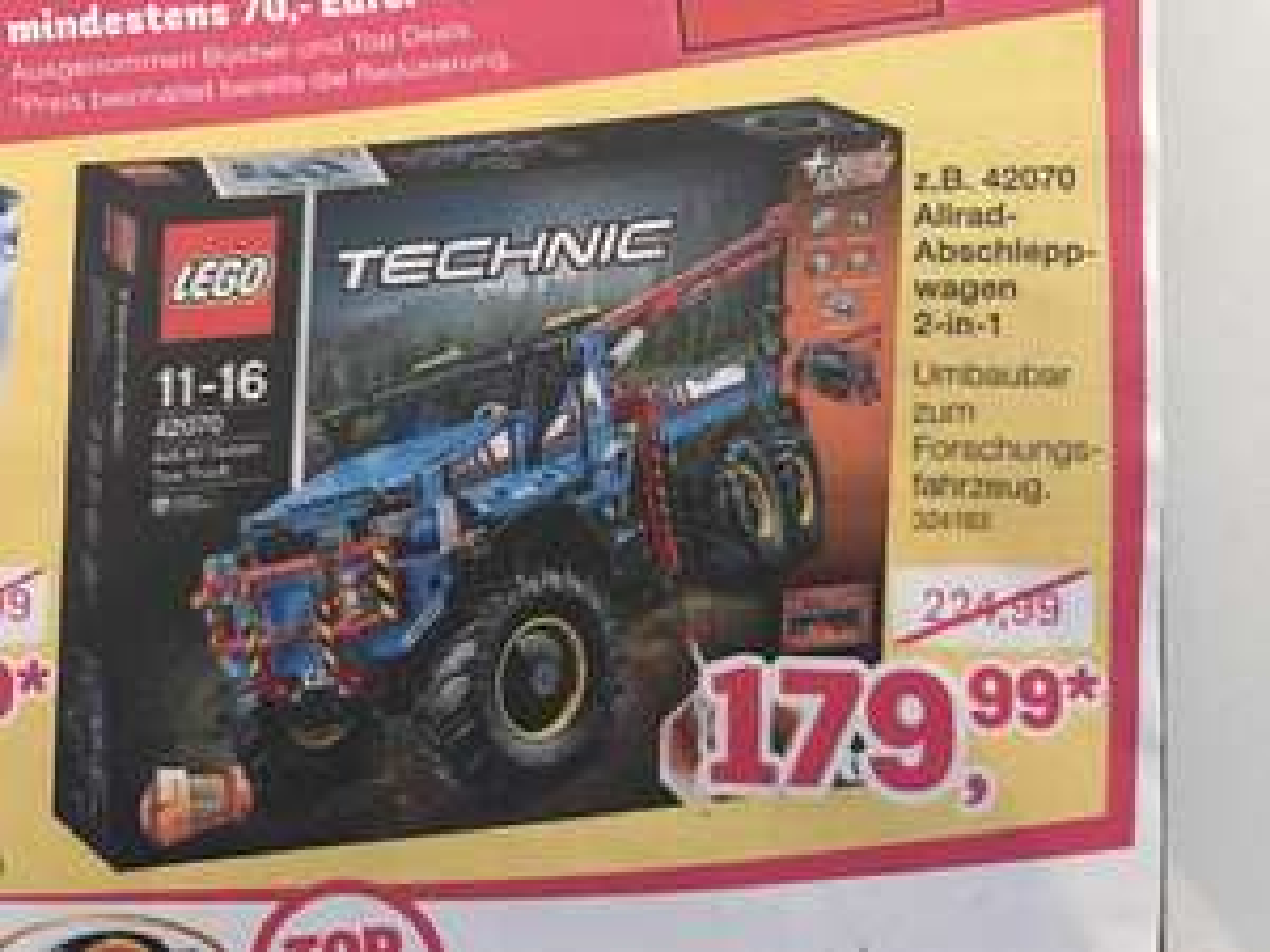 Lego Technic - Allrad Abschleppwagen 2 in 1 - Bei Toys R Us