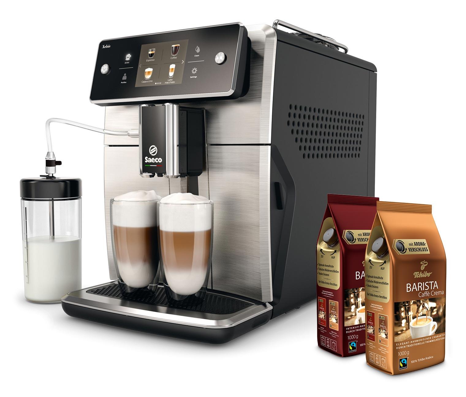 Saeco Xelsis SM7683/00 inkl. 2 KG Gratis Kaffee