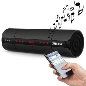 Zinsoko KR-8800 NFC Bluetooth Speaker Black mit Radio