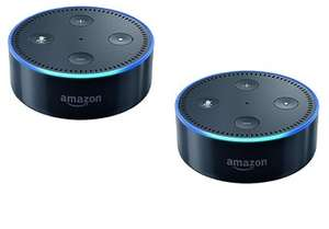 2x Amazon Echo Dot 2. Gen 55,93€ oder Amazon Echo Dot + Fire TV Stick für 45,93€