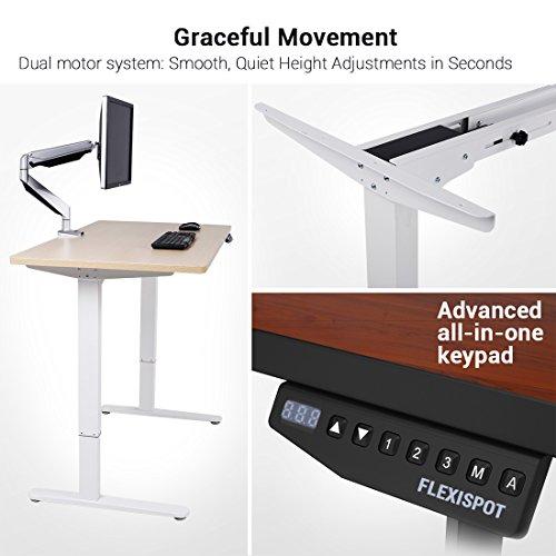 Flexispot E2S Höhenverstellbarer Schreibtisch/Elektrisch höhenverstellbares Tischgestell Amazon [Blitzangebot]