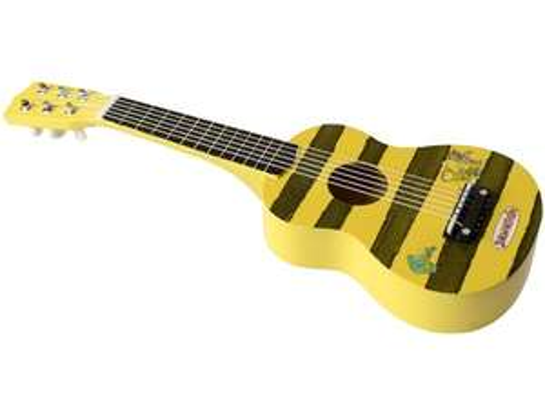 Janosch Kindergitarre von Beluga aus lackiertem Holz
