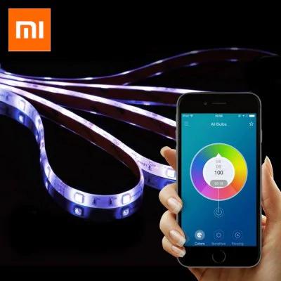 2m Xiaomi Yeelight Smart Light Strip - RGB + 5m String Light for Patio (50 LEDs)