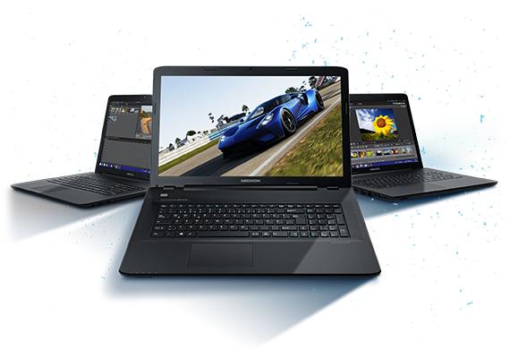 Aldi-Gaming-LaptopMedion P7652 ab 07.12.2017 in den Filialen von Aldi Süd für 999€