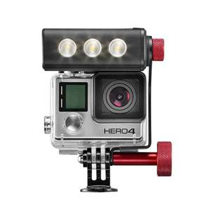 Manfrotto Off road ThrilLED Licht + Off road Stunt-Stick für GoPro