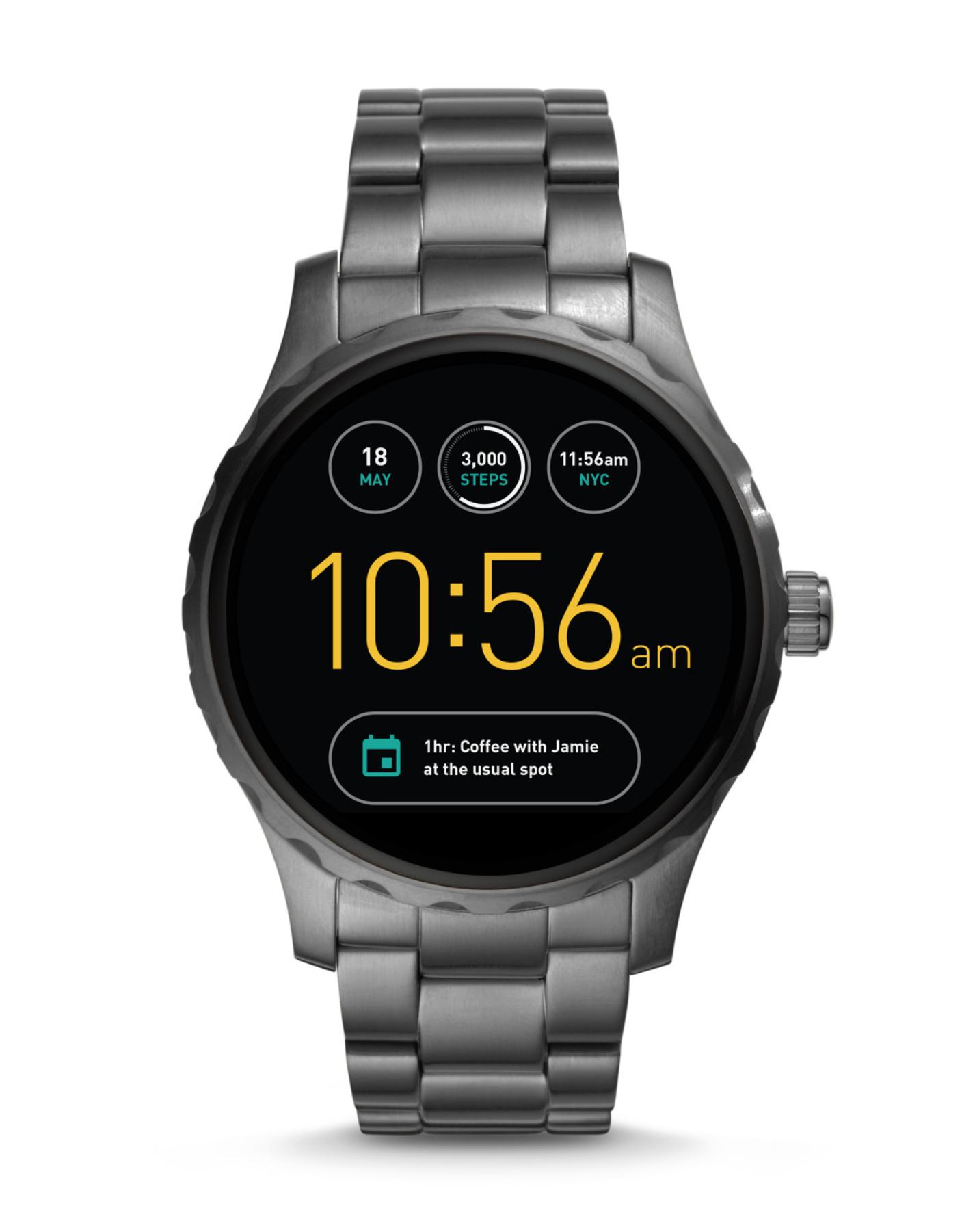 Fossil Smartwatch Q Marshal 2.Gen - Grau im Fossil Online Shop - nur heute!
