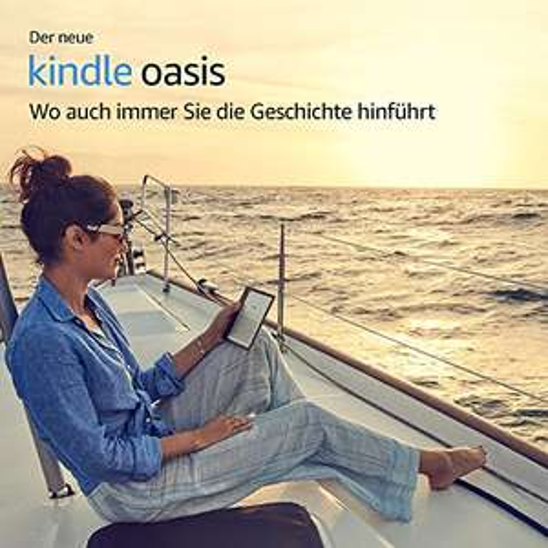 Der neue Kindle Oasis eReader, wasserfest, hochauflösendes 7 Zoll-Display (300 ppi), integriertes Audible, 8 GB, WLAN