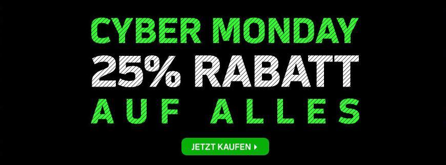 NFL Shop Europe - 25% Rabatt auf alles + 10% Nekunde bei Newsletteranmeldung