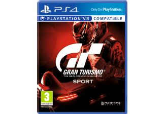(Mediamarkt.nl Grenzgänger) Gran Turismo Sport Standard edition Ps4