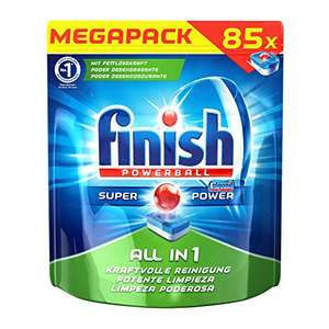 Amazon - Finish All in 1, Spülmaschinentabs 85 Tabs (0,115€ pro Spülgang)