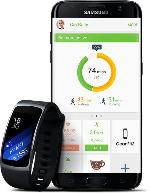 Samsung Mehrwertpaket: Ab 29.11.17 bekommt ihr zum Galaxy S8/S8+/Note8 eine Gear Fit 2 dazu!