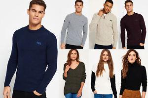 Superdry Pullover für Männer und Frauen für 23,95€, Sweatjacken für 34,95€, Jogginghosen für 27,95€