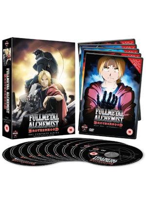 Fullmetal Alchemist Brotherhood - Complete Series (nur in Englisch)