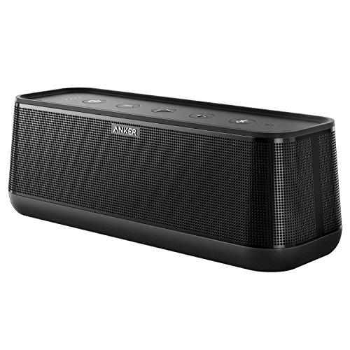 Anker SoundCore Pro 25W Bluetooth Lautsprecher, 4 Treiber, 18 Std. Spielzeit, IPX4 Spritzwassergeschützt