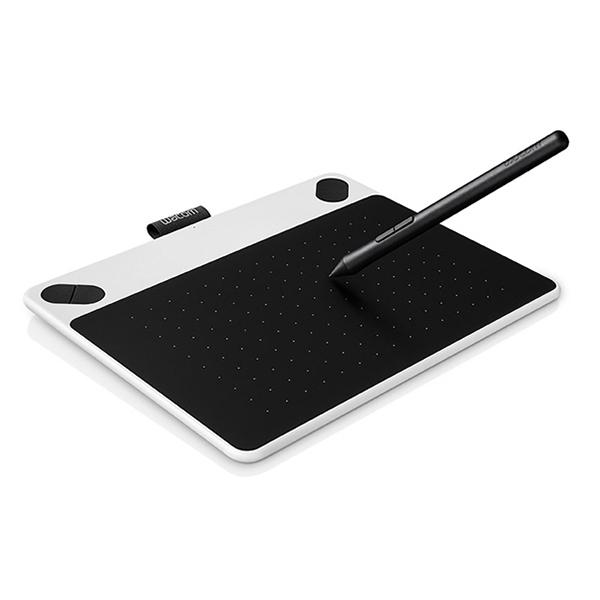 Wacom USB-Grafiktablett Intuos Draw White + Pen S Weiß bei Völkner für unter 50€