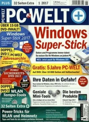 Bis zu 4 Ausgaben PC WELT PLUS für 22,95€ + 20€ Amazon Gutschein