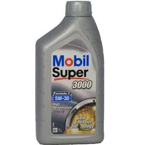 Mobil Super 3000 Formula V 5W-30 Longlife III Motorenöl, 1 Liter